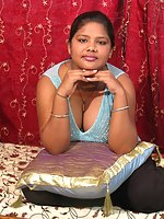 Cute and chubby Indian chick